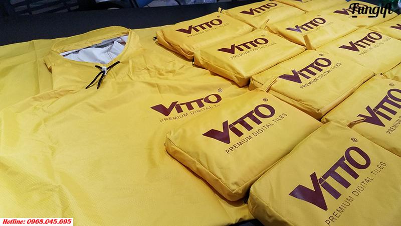 Áo mưa siêu nhẹ Vitto