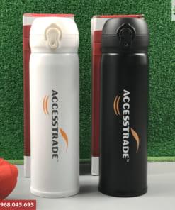 Bình Giữ Nhiệt Nóng Lạnh In Logo Accesstrade