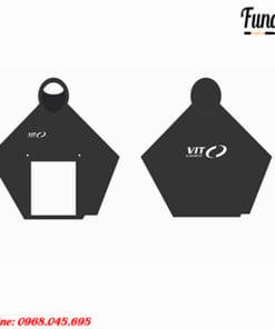 Áo Mưa PVC cánh dơi in logo