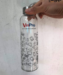 Bình Thủy Tinh In Logo VinPro