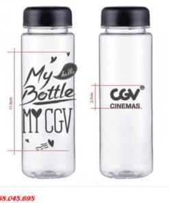 In Logo Bình Nước Nhựa My Bottle