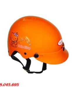 Mũ Bảo Hiểm Cho Bé In Logo