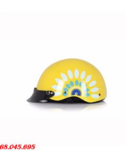 Mũ Bảo Hiểm Cho Bé In Hình