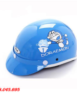 Mũ Bảo Hiểm Trẻ Em In Logo