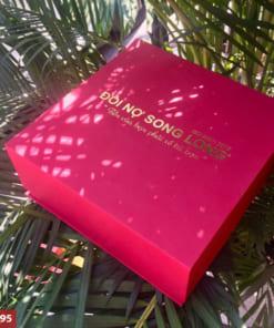 Giftset bộ quà tặng 2in1 bình giữ nhiệt + ly sứ in logo làm quà tặng khách hàng