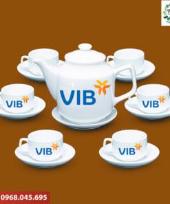 Ấm trà quà tặng Vib