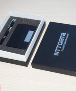 Bộ quà tặng Giftset 11 (Bút kim loại + Ví Namecard)