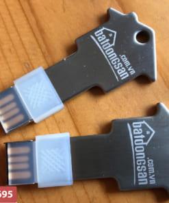 USB kim loại khắc logo