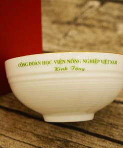Bát ăn Bát Tràng in logo