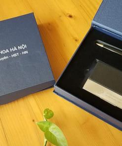 Bộ quà tặng hộp namecard bút ký