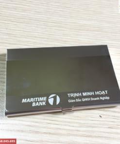 Hộp đựng card visit kim loại