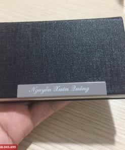 Hộp đựng Name Card kim loại