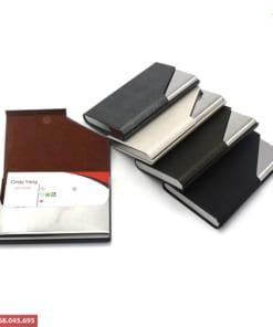 Sản xuất hộp name card theo yêu cầu