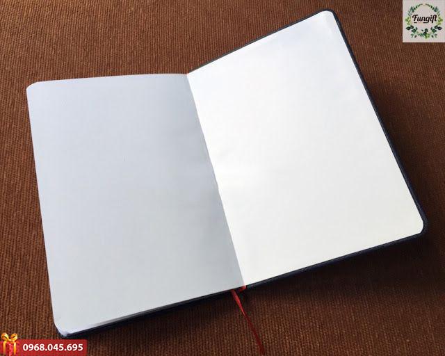 Sổ bìa da dán gáy