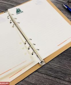 Sản xuất sổ tay bìa còng 6 lỗ