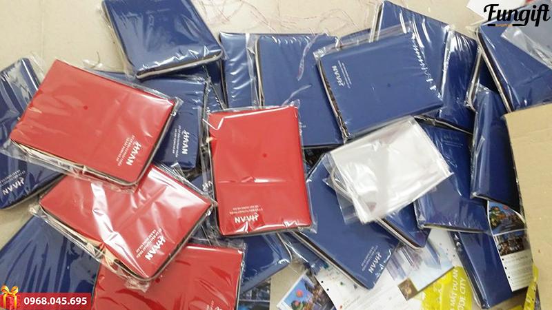Xưởng sản xuất sổ da giá rẻ Hà Nội