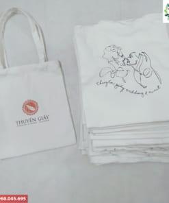 Túi vải bố in logo theo yêu cầu