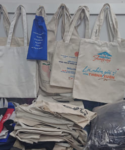 Túi vải in logo theo yêu cầu