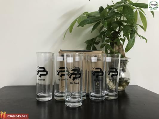 Bộ cốc thủy tinh 6 chiếc