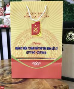 Túi giấy in logo theo yêu cầu