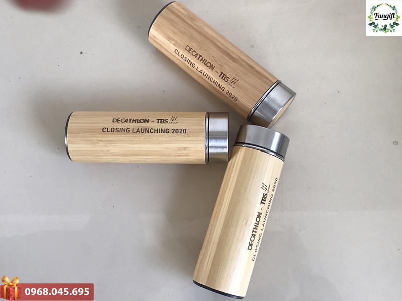 Bình giữ nhiệt gỗ giá rẻ