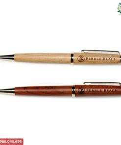 Bút vỏ gỗ khắc tên theo yêu cầu