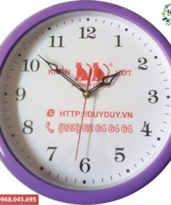 Đồng hồ in logo theo yêu cầu