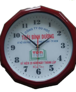 Đồng hồ lục giác quà tặng