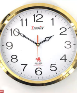 Đồng hồ treo tường hình tròn sang trọng