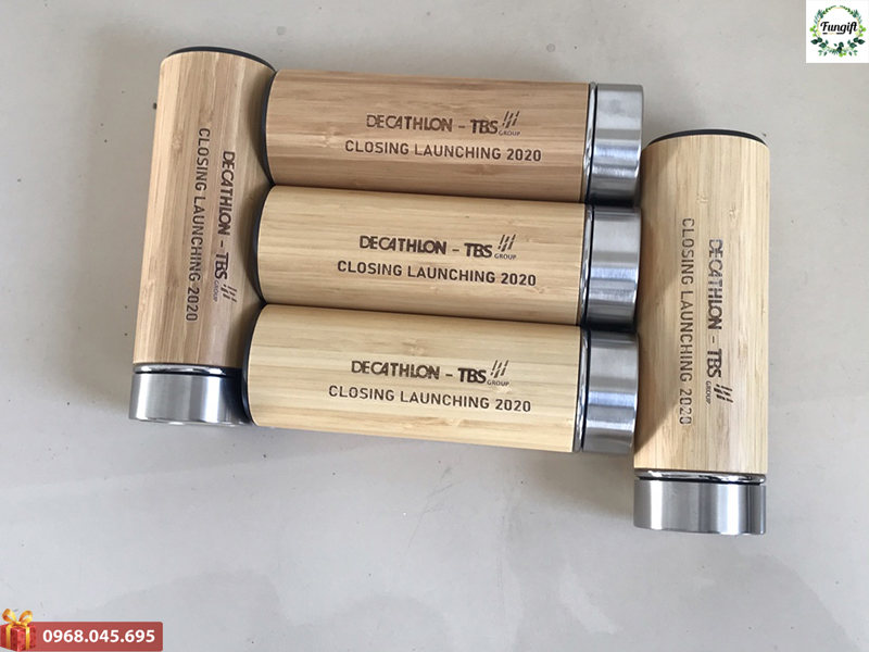 Phân phối bình giữ nhiệt vỏ gỗ rẻ toàn quốc