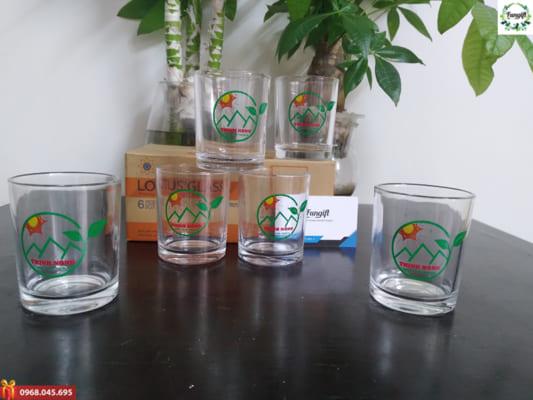 Cốc đựng nước thủy tinh bán tại Hà Nội