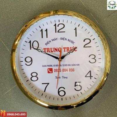 In chữ lên đồng hồ treo tường Hà Nội