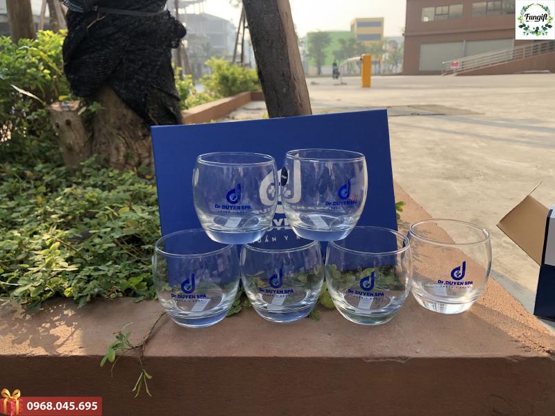 Xưởng sản xuất ly thủy tinh theo yêu cầu