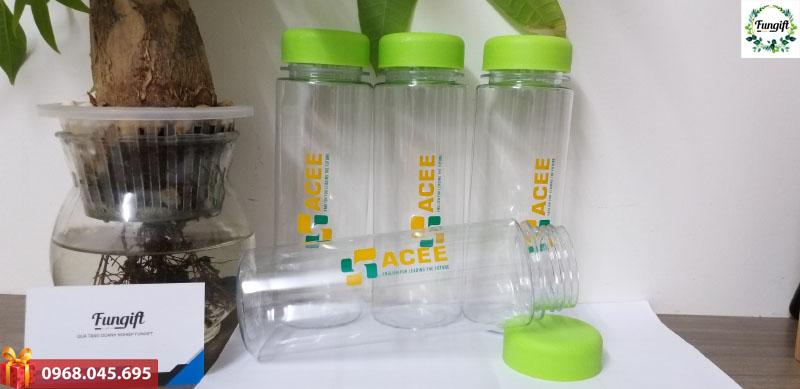 In logo bình nước quà tặng
