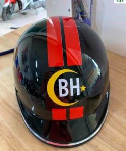 Mũ bảo hiểm in logo thiết kế
