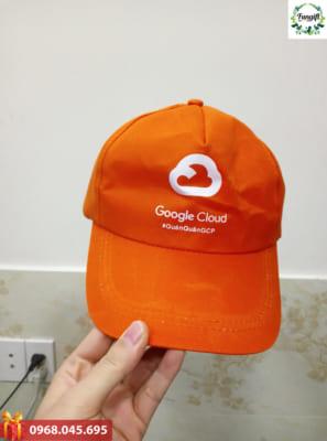 Mũ lưỡi trai in logo google cloud