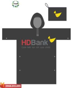 Áo mưa in logo ngân hàng