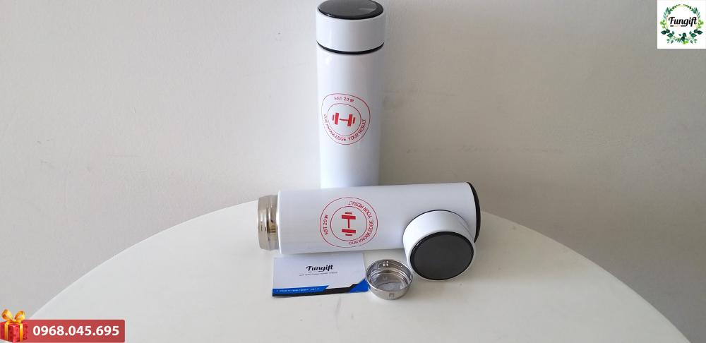 Bình giữ nhiệt 500ml nắp cảm ứng