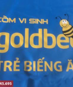 Đặt sản xuất áo mưa in logo