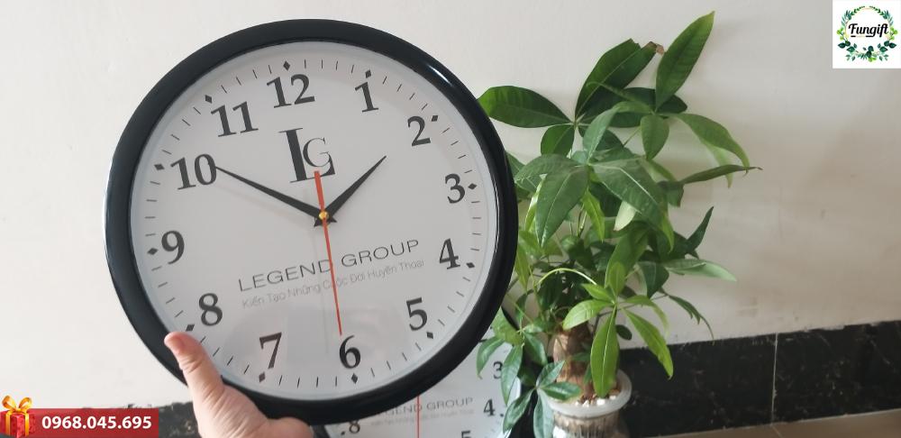 Đồng hồ quà tặng in logo