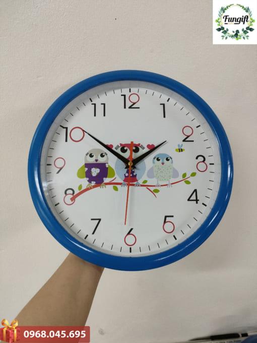 Đồng hồ quà tặng in logo cty