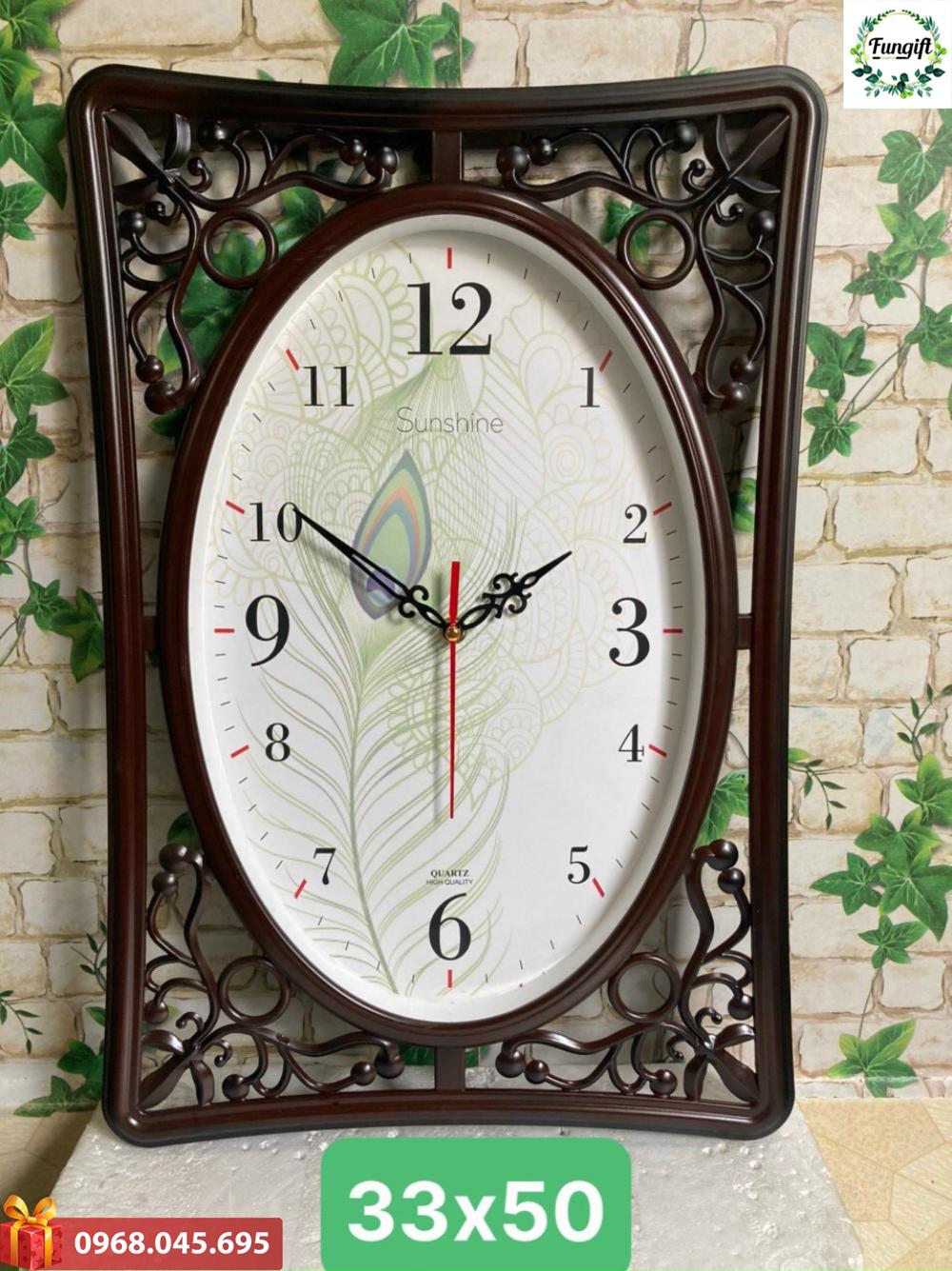 Đồng hồ treo tường in hình theo yêu cầu