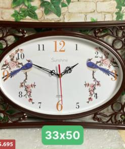 Đồng hồ treo tường in logo