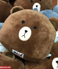 Gấu bông quà tặng thêu logo