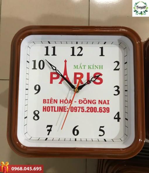 In chữ lên đồng hồ quà tặng