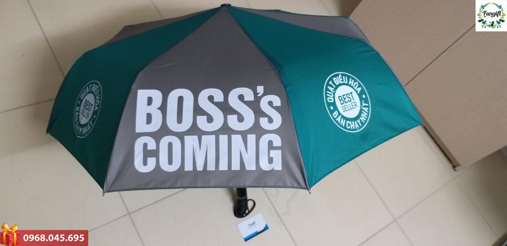 In logo lên ô dù quà tặng giá rẻ