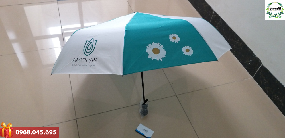 In logo thương hiệu lên ô dù quà tặng