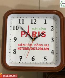 In logo trên đồng hồ treo tường