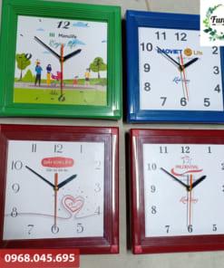 Mẫu đồng hồ treo tường quà tặng quảng cáo