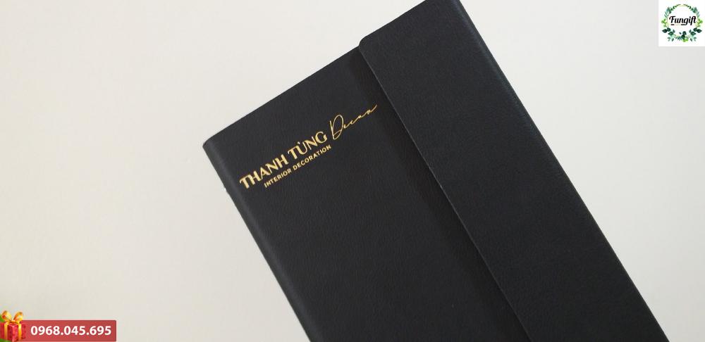 Sổ bìa còng quà tặng